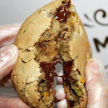 Quero Cookies: Cookie Especial Pistache