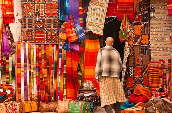 Marrakech colorful souks