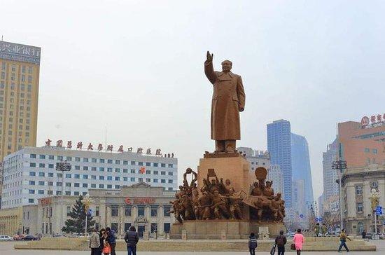 瀋陽中山広場とナイトマーケットへのプライベートナイトツアー