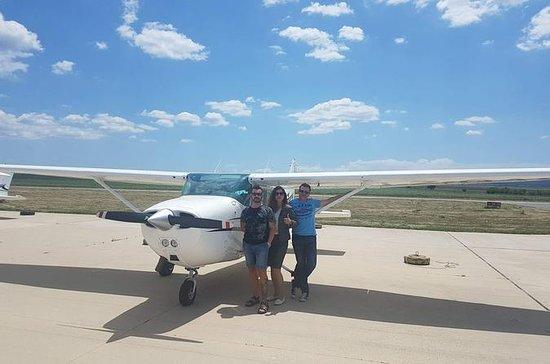 Flight tour over Vitosha mountain and...