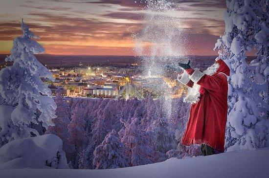 サンタクロースの故郷のクリスマス