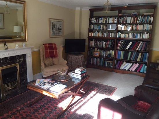Wansford, UK: living room