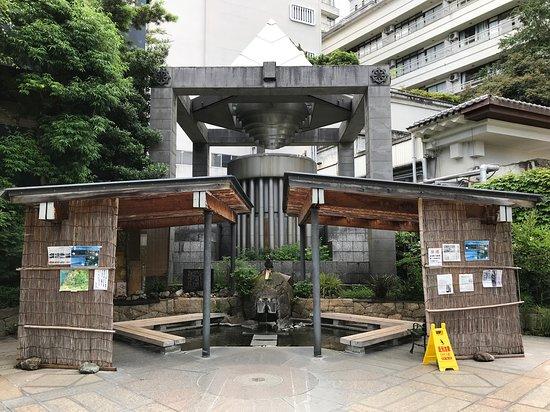 Yamashiro Onsen Foot Bath