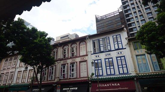 Raffles Place, Сингапур: 直落亞逸街內的歷史建築