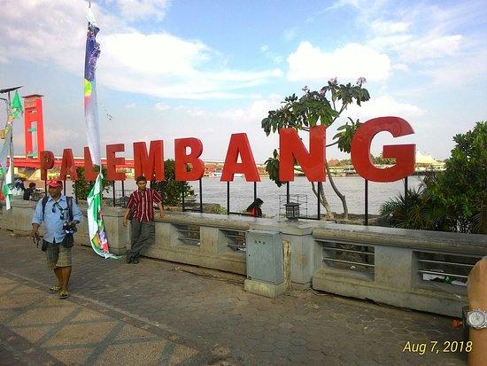 Benteng Kuto Besak: photo shot place