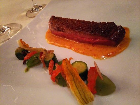 Tour d'Argent Tokyo: スペシャリテの鴨料理