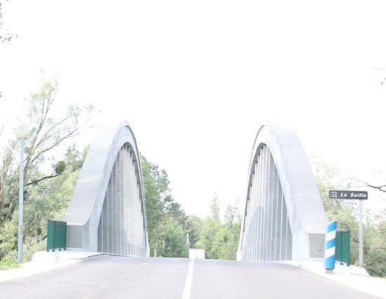 Branges, ฝรั่งเศส: Le pont de la seille