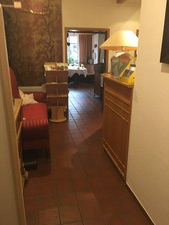 Hotel Restaurant Witte: Rezeptionsbereich