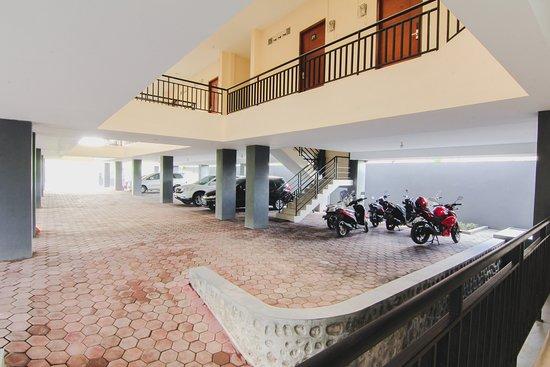 Caturtunggal, Indonésia: Parking Area