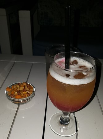 Naxos Town, Greece: Planter's Punch cocktail