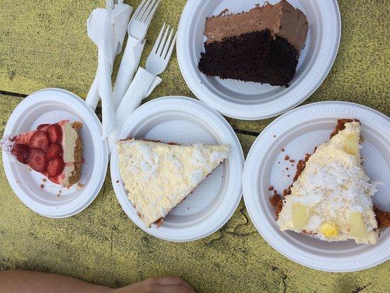 Ngatangiia, Cook Islands: cheesecakes!