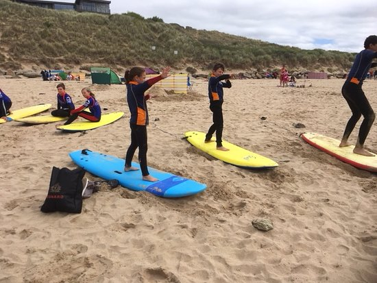 Kingsurf Surf School: Do the Usain Bolt!