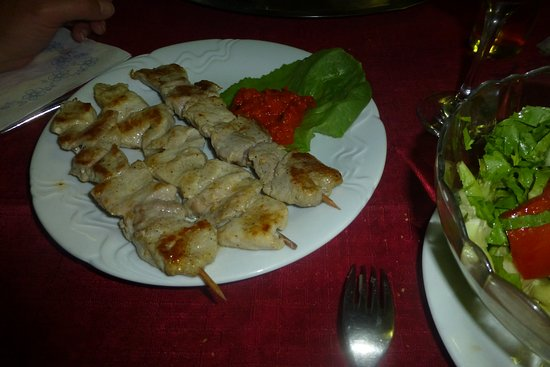 Most na Soci, Slovenia: Pork