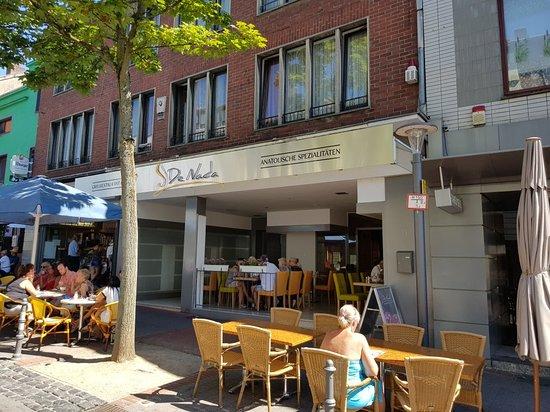 Herzogenrath, Γερμανία: Restaurant-Ansicht von der Kleikstraße aus