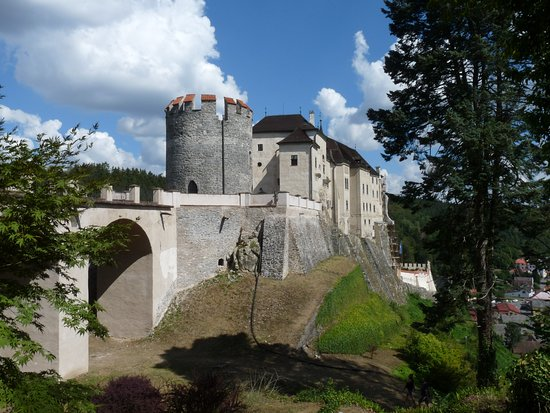 Cesky Sternberk, Чехия: Hrad Český Šternberk