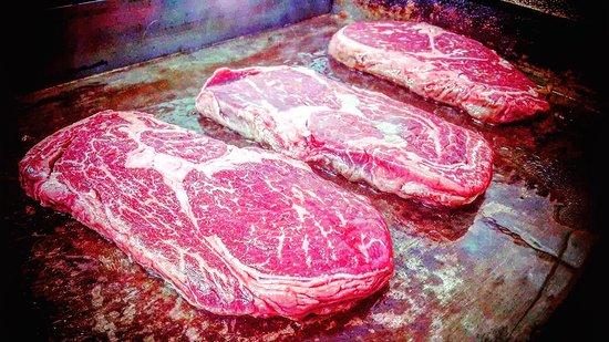 Chaplin's Steakhouse & Restaurant: Angus Rib Eye Steak Nebraska U.S.A.