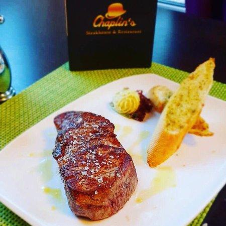 Chaplin's Steakhouse & Restaurant: Angus Filet Nebraska U.S.A.