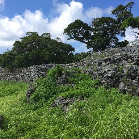 The Itokazu castle ruin