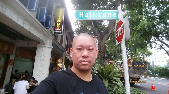 Haji Lane: Street sign