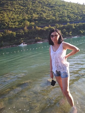 Plomin, โครเอเชีย: Szmaragdowe ,czyste i ciepłe morze
