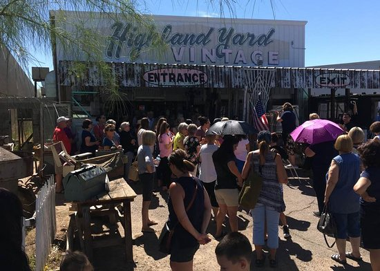 Chandler, AZ: Highland Yard Opening Day LINE PARTY! Happens every month on opening day between 9:30 -10a!
