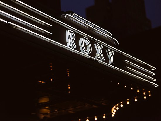 The Roxy Hotel Tribeca: The Roxy Marquee
