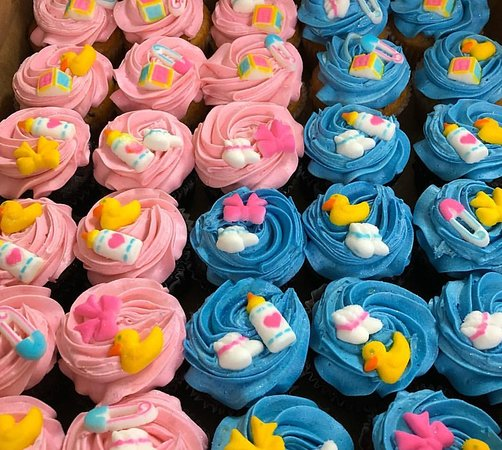 Chaguanas, Trynidad: Baby Shower Cupcakes