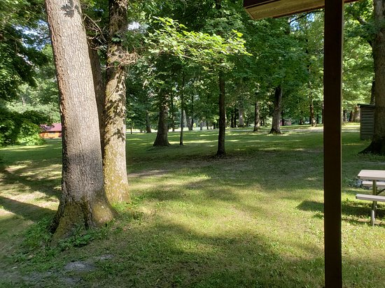 Tonica, IL: View from the Porch at the Apache Cabin