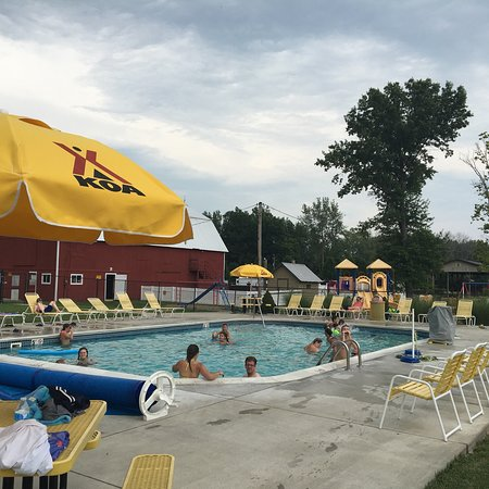 Pool at Buckeye Lake KOA
