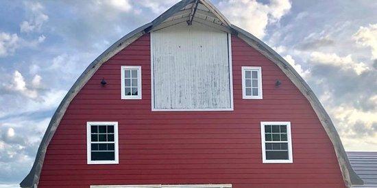 Hankinson, Dakota Północna: Lady on the Lake, two floor wedding barn