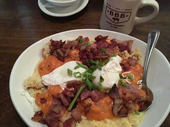 Big Bad Breakfast: Breakfast crumble