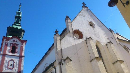 Susice, Τσεχική Δημοκρατία: Kostel sv.Václava v Sušici