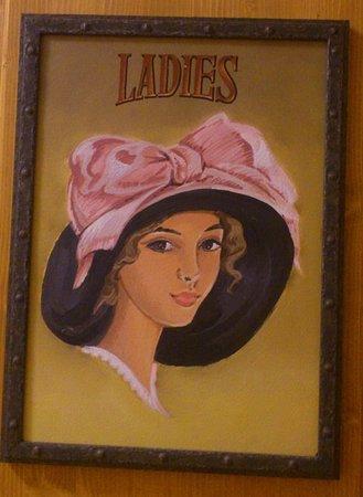 Chodova Plana, Τσεχική Δημοκρατία: Restaurace ve Skále - vchod na dámské toalety 02