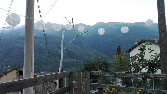 Chiomonte, Italie: Serata romantica