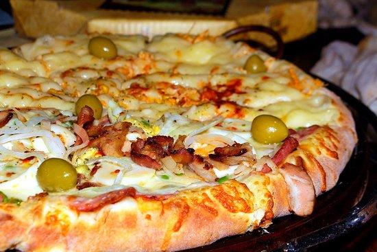 Cambui, MG: Pizza Portuguesa