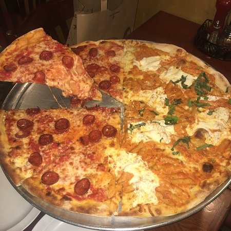 Napoli S Brick Oven Pizza Picture Of Napoli S Pizza Hoboken Tripadvisor