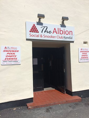 The Albion Social & Snooker Club Kendal