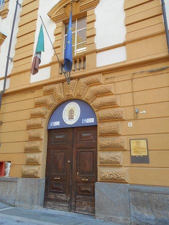 Ingresso Archivio di Stato a Cuneo