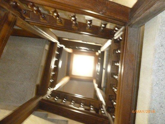 Drewsteignton, UK: Staircase