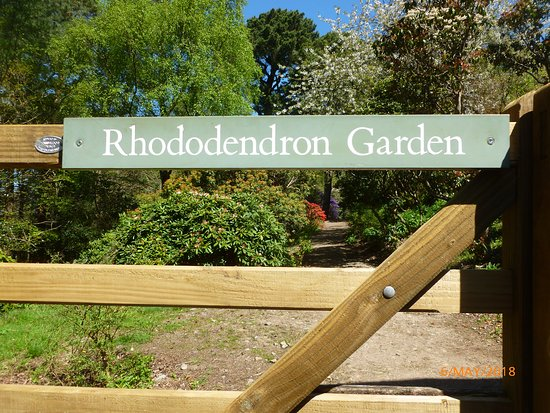 Drewsteignton, UK: The Garden entrance