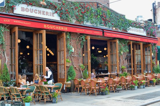 Sidewalk Dining Picture Of Boucherie West Village New