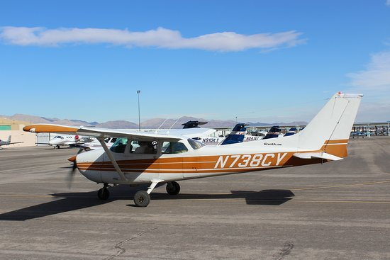 Airwork Las Vegas: Cessna 172.  This is the primary airplane used for pilot training.