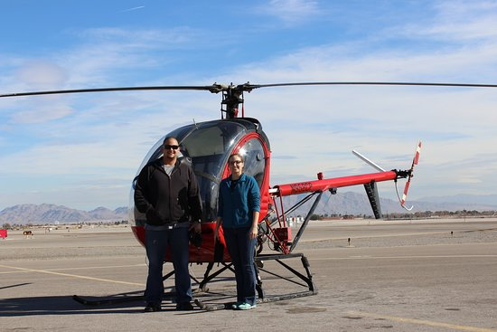 Airwork Las Vegas: The Schweizer 300C Helicopter.  This is one of the helicopters we train new pilots in.