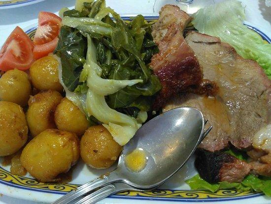 Campo de Geres, Portugal: Carne asada