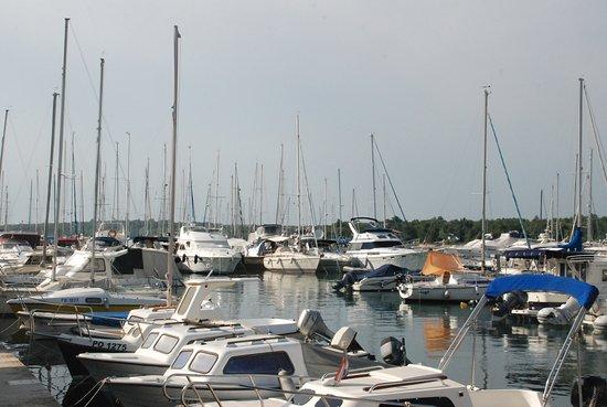 Cervar Porat, Κροατία: Blick auf den Hafen