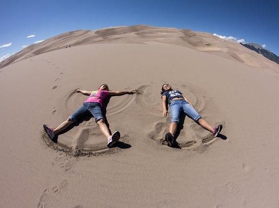 Национальный парк и заповедник Великие песчаные дюны, Колорадо: Great Sand Dunes National Park & Preserve