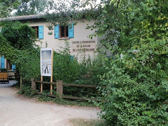 Le Centre d'Observation de la Nature de l'Ile du Beurre