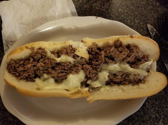 Fairless Hills, Pensylwania: regular cheesesteak