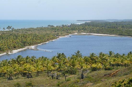 Vista da Lagoa Azul