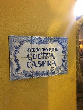 Viejo Barrio Restaurant and Bar: Ok!